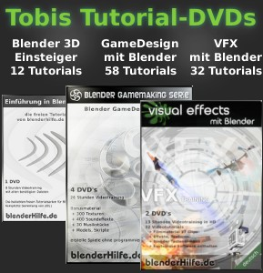 Blender 2.6 2.5 Tutorials Trainings Produkte