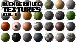 blenderHilfe Textures Vol. 1