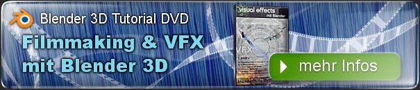 Filmmaking und VFX mit Blender 3D - 3D Videoeffekte und Compositing