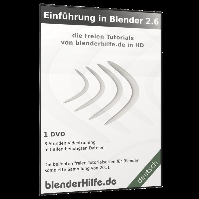 Produktbild Einführung in Blender