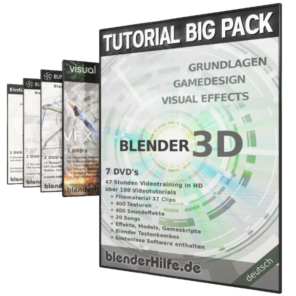 Produktbild Tutorial Big Pack