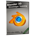 Produktbild Blender 3D Einsteiger Training