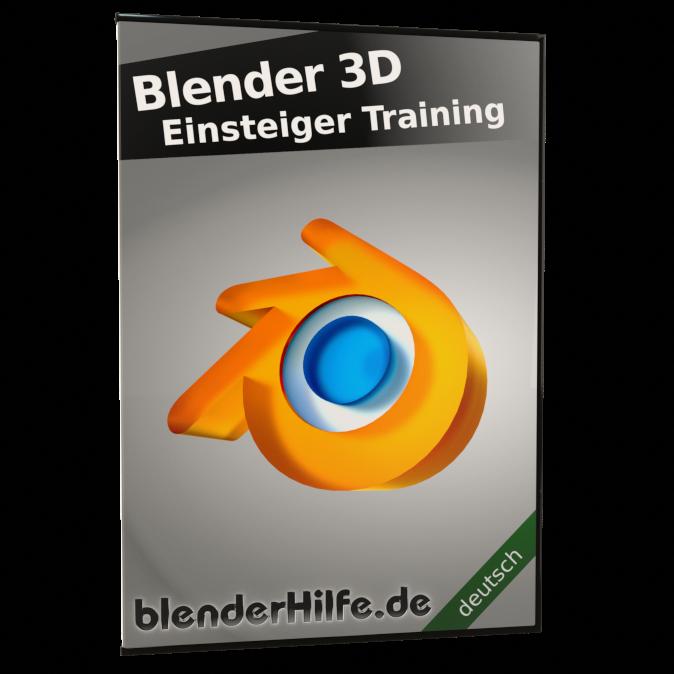 Produktbild Blender 3D Einsteiger Training