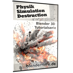 DVD Physik, Simulation, Destruction mit Blender